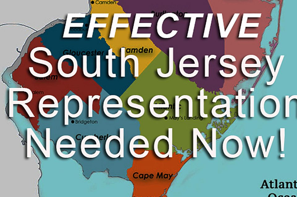 Effective South Jersey Representation
